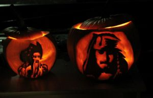 Captain Jack o' lantern ... by TheDragonCat