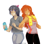 Hitting On The Bae at the Gym by Sogequeen2550