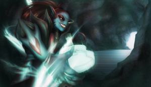 Undyne the Undying Cover by y0waifu