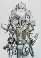 Avengers ME by spaceMAXmarine