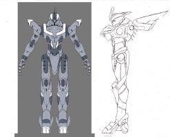 New mecha design by Seig-Verdelet
