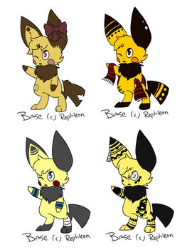 PICHU ADOPTABLES CLOSED by pichisi