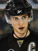 Sidney Crosby by ahobaga