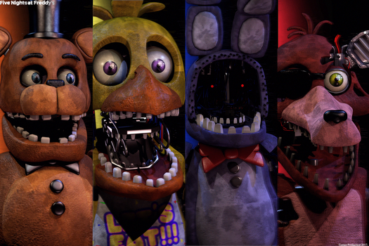 FNAF 2 - Withered Gang by GamesProduction