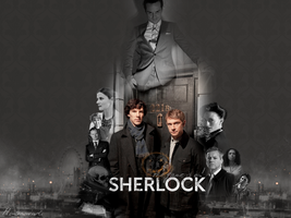 The game is on. | Sherlock by Monsunwind