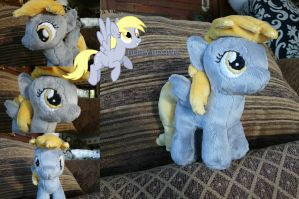Filly Derpy Hooves Plushie by navkaze