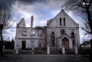Ruins of the Evangelical church by GregKmk