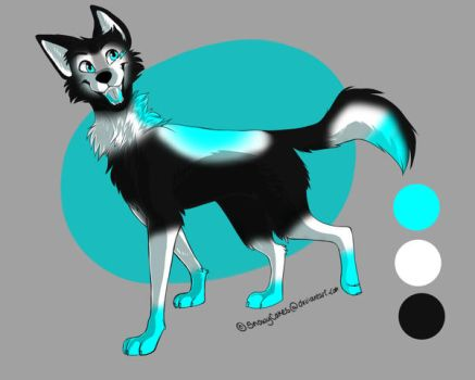 Dogwolf adoptable bought by me by Teazerkitt