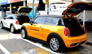 New Mini Cooper Display Showcase by toyonda