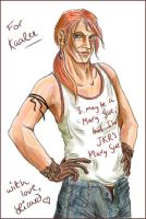 Bill 'Mary-Sue' Weasley by lizard-spots