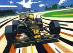 Senna in Brazil by klem