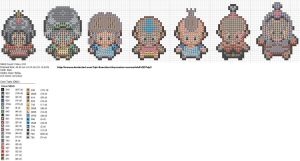 Avatar Sprites by carand88