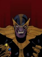 Thanos by Rique-lope