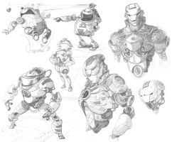 Sketches by Dattaraj