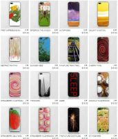 My original iPhone and iPod skins for sale by StevenARTify
