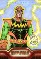 Iron Man 2 sketchcards 16 by SpiderGuile
