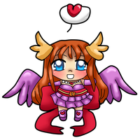 Angel Izka Squishy Chibi by Sakurarmarie