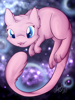 Mew by LupusSilvae