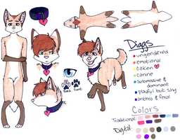 Diggs Reference Sheet by Kajin-the-wolf