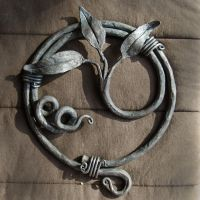 Wall Ornament - Blacksmithing class by Xipiti
