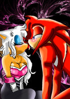 Knuckles x rouge she loves you and only you by thefallenangel78