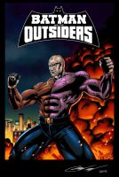 Batman and The Outsiders : Metamorpho colors by LTartist