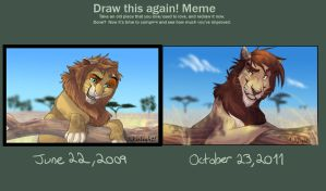 Draw this again meme NYACK by 1skylight1