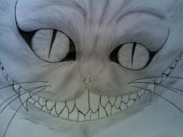 The Cheshire Cat by MOEMOE2505