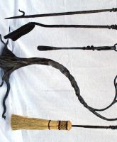 'tree' fireplace tools by artistladysmith