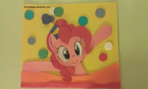 Pinkie Pie shadowbox by KittenLollipop