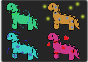 Dinosaur Adopt Set - Will be moved once sold by Natalie02