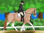 Trot On This  WAAHS 2014 by Indigo-Acres