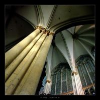 Golden Column by 5uRt