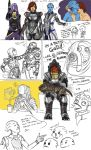 Mass Effect Sketchdump 2 by Ma-rin