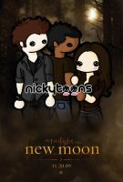the Twilight Saga: New Moon by NickyToons