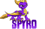 The purple Skylander by IcelectricSpyro