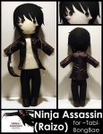 Ninja Assassin -commission- by AlchemyOtaku17