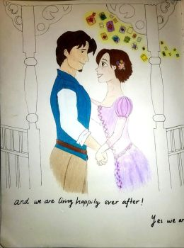 Tangled - Happily ever after by calink12