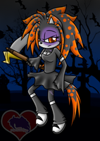 .:RQ:. Dorei the ZombieHybrid by FilipaTheHedgehog