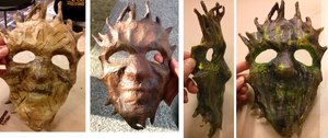Tree man mask by iscaylis