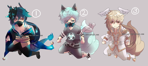 Adoptable set price 8 usd|mixed batch | closed by Rheliant