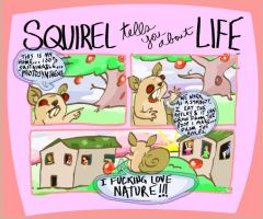 Squirrle comic by Pancakeenthusiast