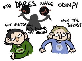 don't wake odin up by geothebio