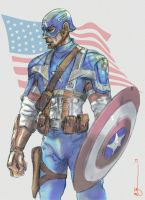 Captain America 2013l by BrianTyson