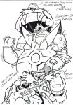 the eggman,robotnik sketch by trunks24