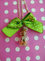 Candy bottle - necklace by NimfVirTi