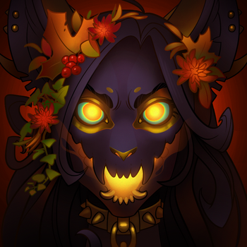 Spooky Halloween Icon by SHADE-ShyPervert