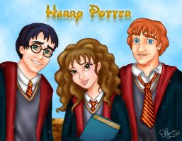 Harry Potter Disney style by SeeTheMagic