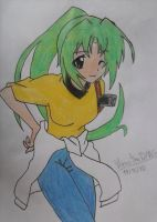 Sonozaki Mion (Color) by ManatheDMG