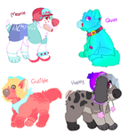 READ THE RULES!!! OFFER-TO-ADOPT OPEN 4/4(COLLAB) by Choweh